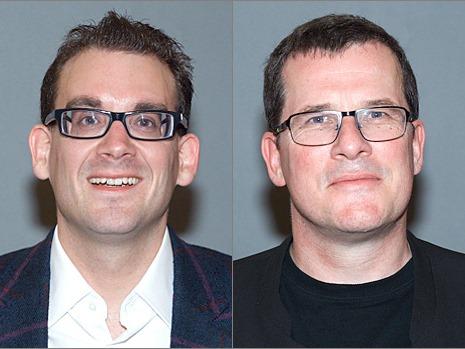Photo of Dr Nikolas Rae and Mr Morgan Downie