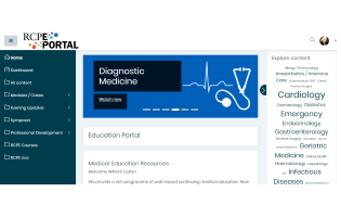 How to navigate the new look Education Portal