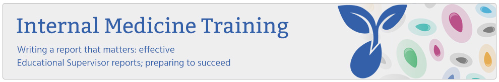 Banner Logo for Health Education England's Internal Medicine Training Programme